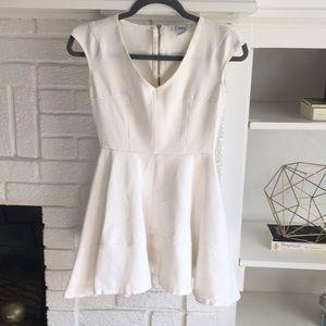 Bar III white mini dress